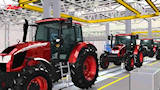 Modernization of assembly line ZETOR tractors