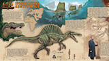 Spinosaurus encyclopedia comics