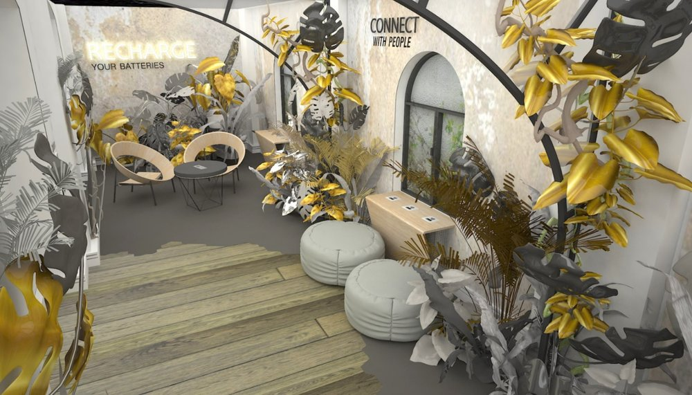 RECHARGE: an interior design for a permanent exhibition
