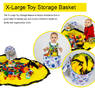 X-Large toy storage basket with playmat
