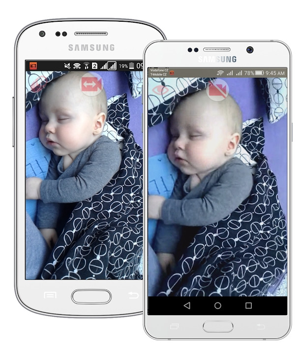 NannyCam parenting app for Android